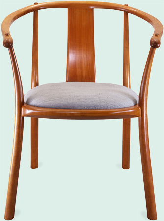 Gentil Cherry Circular Chair