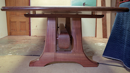 Long Trestle Table