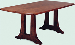 Open Trestle Table