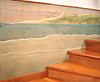 bolinas mural and stairs - west