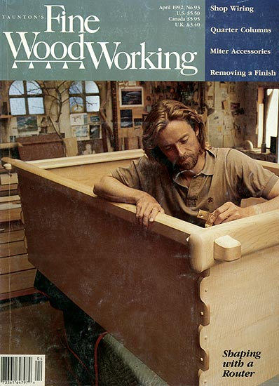 fine woodworking cover