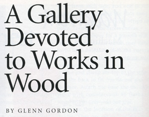 woodwork article title