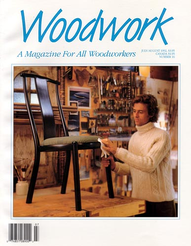 woodwork magazine cover