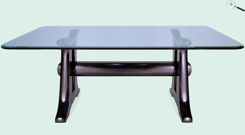 trestle dining table. black trestle dining table